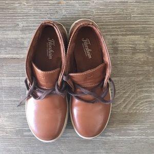 Florsheim boys brown sneaker boot size 1 M